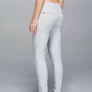 Lululemon Better Together Gray Pants Silver Spoon
